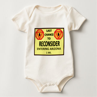 WIngnut Nation  Highway Signs Baby Bodysuit