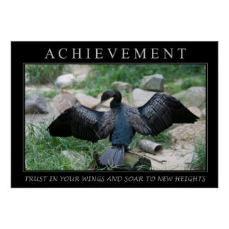 Wings - Achievement Poster