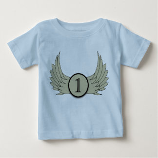 Wings (Age 1) - Baby Fine Jersey T-Shirt