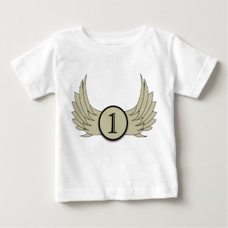 Wings (Age 1) - Baby Fine Jersey T-Shirt Baby T-Shirt