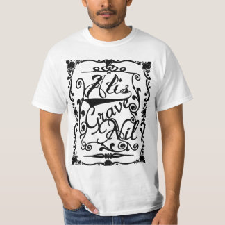"wings""Alis grave nil"" T-Shirt"