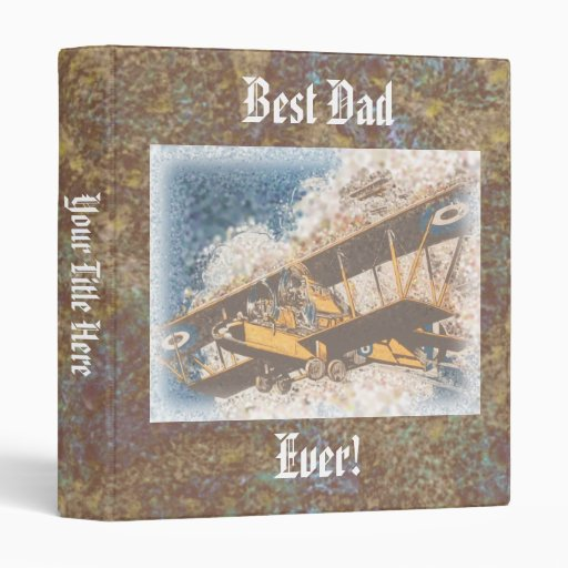Wings Aloft Father's Day Binder