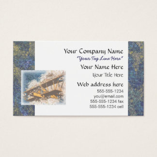 Wings Aloft Father's Day Business Card