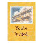 Wings Aloft Father's Day Personalized Invitations
