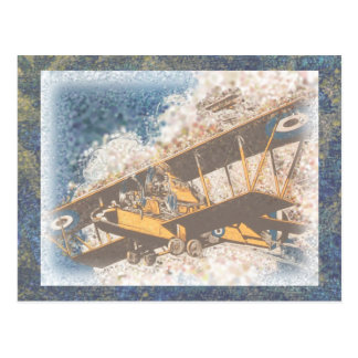 Wings Aloft Father's Day Postcard