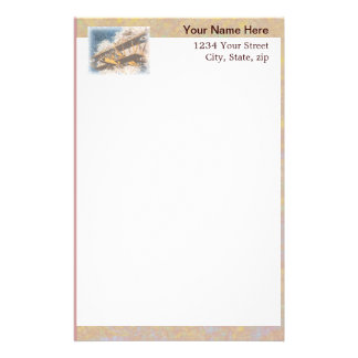 Wings Aloft Father's Day Personalized Stationery