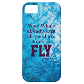 Wings and clouds iPhone SE/5/5s case