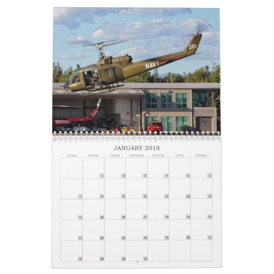 Wings and Rotors Air Museum Calendar