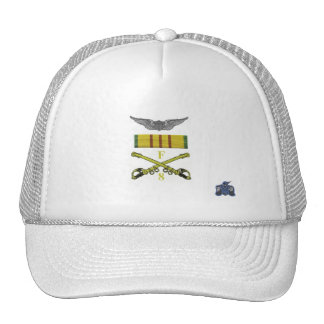 Wings and sabers trucker hat