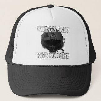 Wings are for Faries Trucker Hat