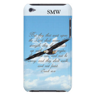 Wings as Eagles, Isaiah 40:31 Christian Bible Barely There iPod Cover