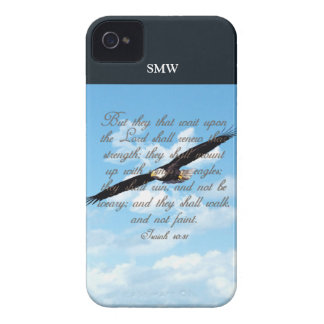 Wings as Eagles, Isaiah 40:31 Christian Bible Case-Mate iPhone 4 Case