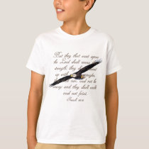 Wings as Eagles, Isaiah 40:31 Christian Bible T-Shirt