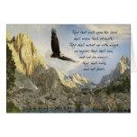 Wings As Eagles Isaiah 4o:31 Greeting Card