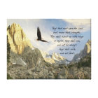 Wings As Eagles Isaiah 4o Canvas Print