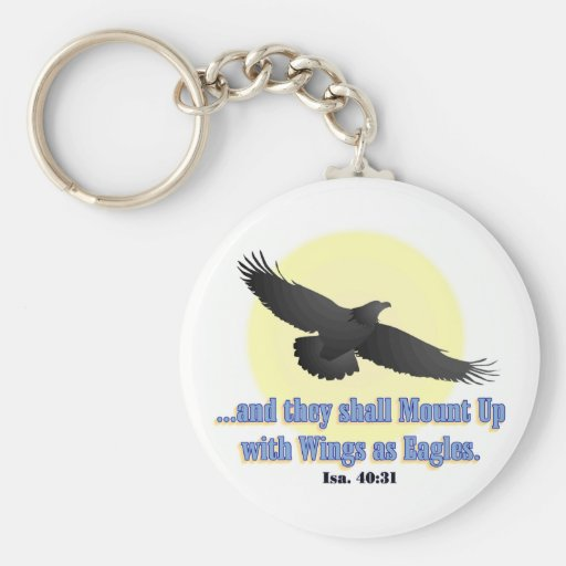 Wings As Eagles KEYCHAIN