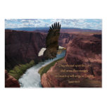 Wings as Eagles Scripture Wallet Cards Large Business Card