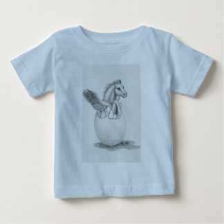 'Wings' Baby Pegasus, Flying Horse Collection Baby T-Shirt