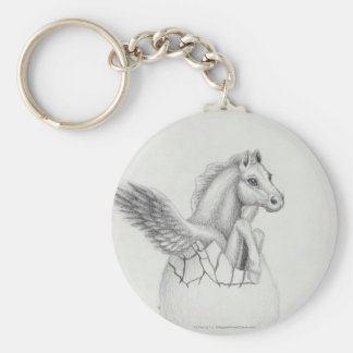 'Wings' Baby Pegasus, Flying Horse Collection Keychain