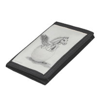 'Wings' Baby Pegasus, Flying Horse Collection Tri-fold Wallet