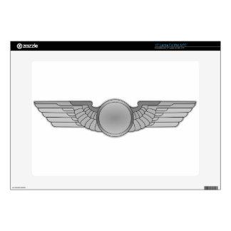 "Wings Badge Skin For 15"" Laptop"