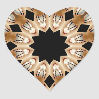 Wings Brown by CGB.png Heart Sticker