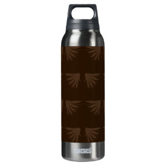 Wings Brown Thermos Bottle