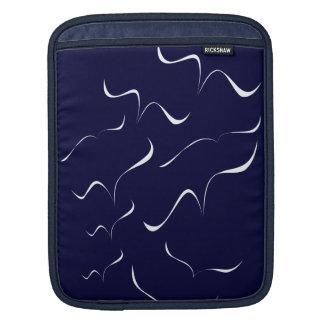 Wings (Brush Art B2) Sleeve For iPads
