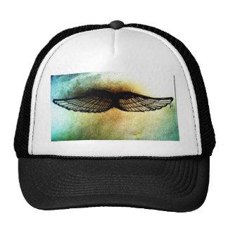 wings by jill high contrast print hats