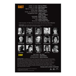 WINGS CAST PAGE POSTER