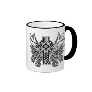 Wings, Cross & Rose Mug