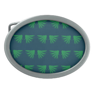 Wings Greens Belt Buckle