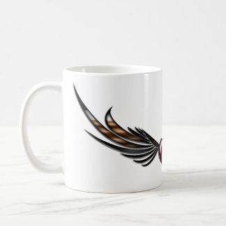 Wings Heart Coffee Mug