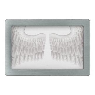 Wings illustration belt buckle