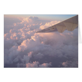 Wings In Clouds Greeting Card