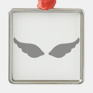 Wings Metal Ornament