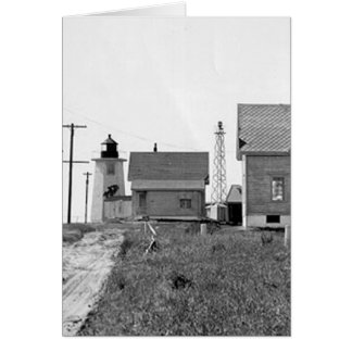 Wings Neck Lighthouse Card