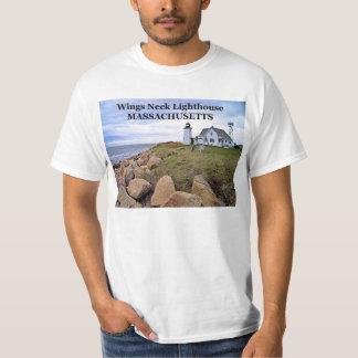 Wings Neck Lighthouse, Massachusetts T-Shirt