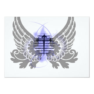 Wings of an Angel 5x7 Paper Invitation Card