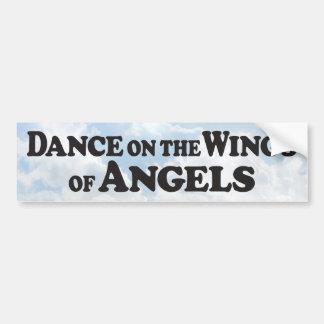 Wings of an Angel - Bumper Sticker Car Bumper Sticker