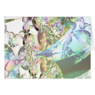 Wings of Angels – Amethyst Crystals Card