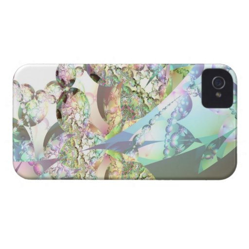 Wings of Angels – Celestite & Amethyst Crystals iPhone 4 Case