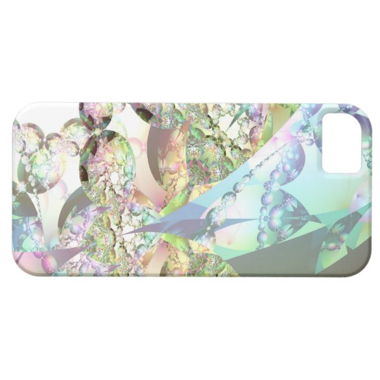 Wings of Angels – Celestite & Amethyst Crystals iPhone SE/5/5s Case