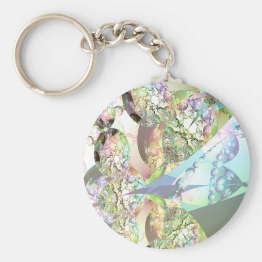 Wings of Angels – Celestite & Amethyst Crystals Keychain