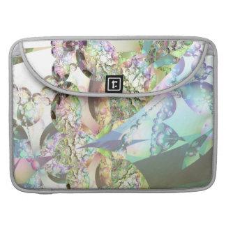 Wings of Angels – Celestite & Amethyst Crystals MacBook Pro Sleeve
