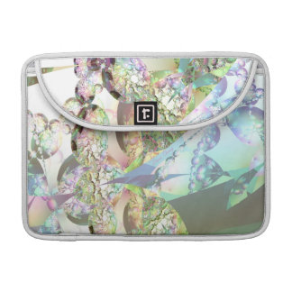 Wings of Angels – Celestite Amethyst Crystals Sleeve For MacBook Pro