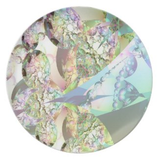 Wings of Angels – Celestite & Amethyst Crystals Plates