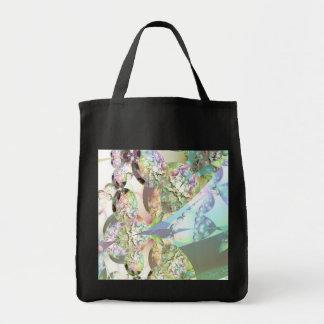 Wings of Angels – Celestite & Amethyst Crystals Tote Bag