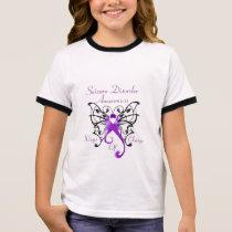 Wings of Change Girls Ringer T-Shirt