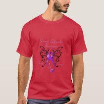 Wings of Change Men's Basic Dark T-Shirt